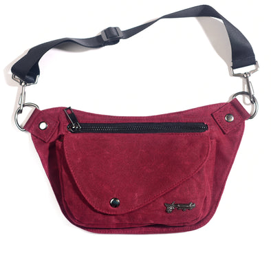 Crimson Rose Lux Hip Pouch