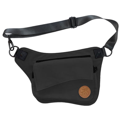 Black Stone Hip Bag