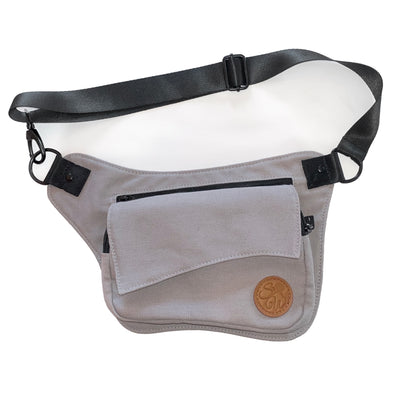 Ash Gray Hip Bag