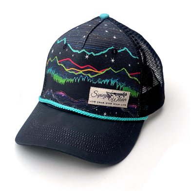 Mountain Pulse V1 Trucker Hat