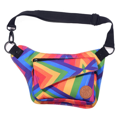 Rainbow Slash Hip Bag