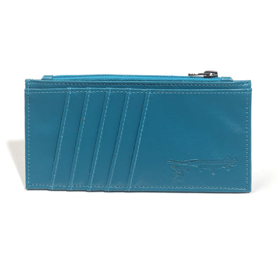 Teal Slim Card Wallet