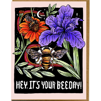 Hey, It's Your Beeday Card