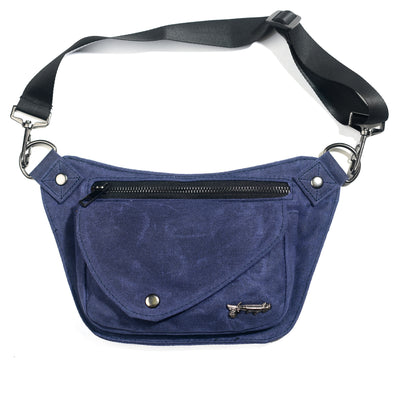 Twilight Blue Lux Hip Pouch