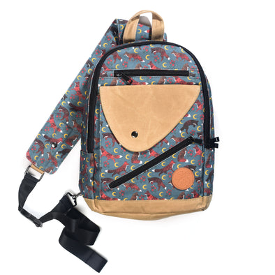 Moonlit Frolic Sling Backpack