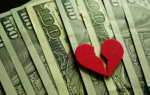 How I made money off a broken heart.