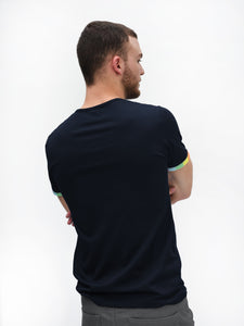 Marine T-shirt - Rainbow Sleeve