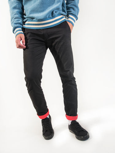 Berlin Stretch Skinny Chinos - Fuchsia