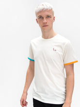 Cream T-shirt - Odd Sleeve