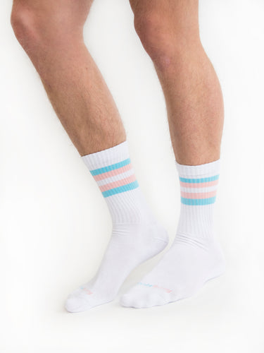 Trans & Allies Retro Socks - PRE-ORDER