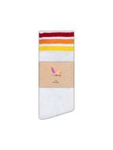 Downtown White Gay LGBT Rainbow Pride Socks
