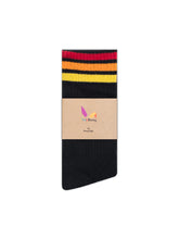 Downtown Rainbow Socks - Black  Socks Retro Gay LGBT Rainbow Pride Socks