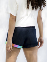 California Navy Blue Short Shorts