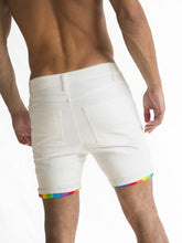 Off-white Roll-up Rainbow Short Shorts PRE-ORDER
