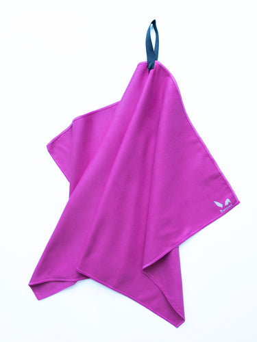 Gym & Travel Towel - Purple
