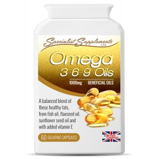 Omega 3-6-9 Oils - Natural Remedies Direct