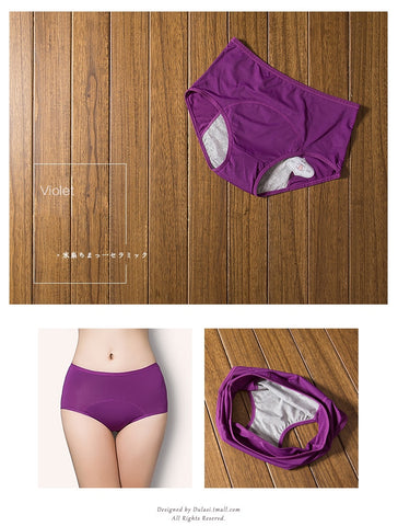3pcs Leak Proof Menstrual Panties - Natural Remedies Direct