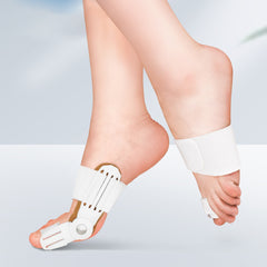 2 PCS Orthopedic Big Toe Bunion Straightener Corrector Splint Brace