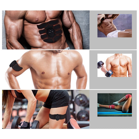 EMS Body Slimming Wireless Abs Muscle Stimulator - Natural Remedies Direct