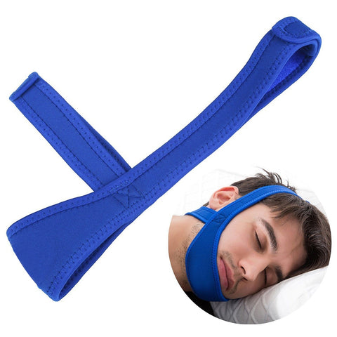 Neoprene Anti Snore Stop Snoring Chin Strap Belt