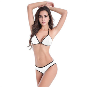 Kimberly Triangle Top With Panty Bikini Set