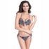 Camila Two Piece Swimsuit Underwire Neck Adjustable Strap Bikini Set