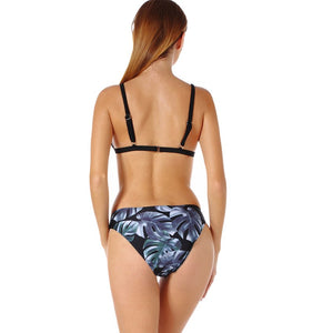 Chanel Criss Cross Top With Floral Bikini