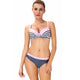 Bria Stripes Underwired Bikini Set