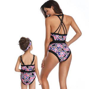 Mother Daughter Swimsuit Camila