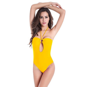 Lola Contrast Underwire One Piece Swimsuit