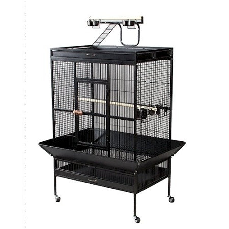 Select Wrought Iron Play Top Parrot Cage
