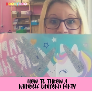 How to Throw a Rainbow Unicorn Birthday Party
