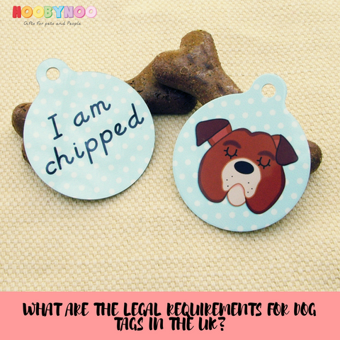 Hoobynoo dog blog. Hoobynoo bulldog illustration dog tag