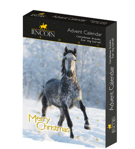horse advent callender, lincoln herb