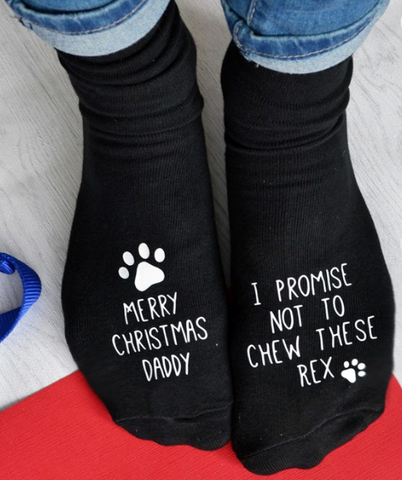 socks from the dog best christmas present