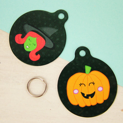 halloween,  halloween pet tag, pumpkin, witch, ghost, pet tag, dog tag, cat tag, halloween pet tag, halloween costume, pet halloween costume, halloween pet costume,