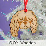 Wooden dog Decorations