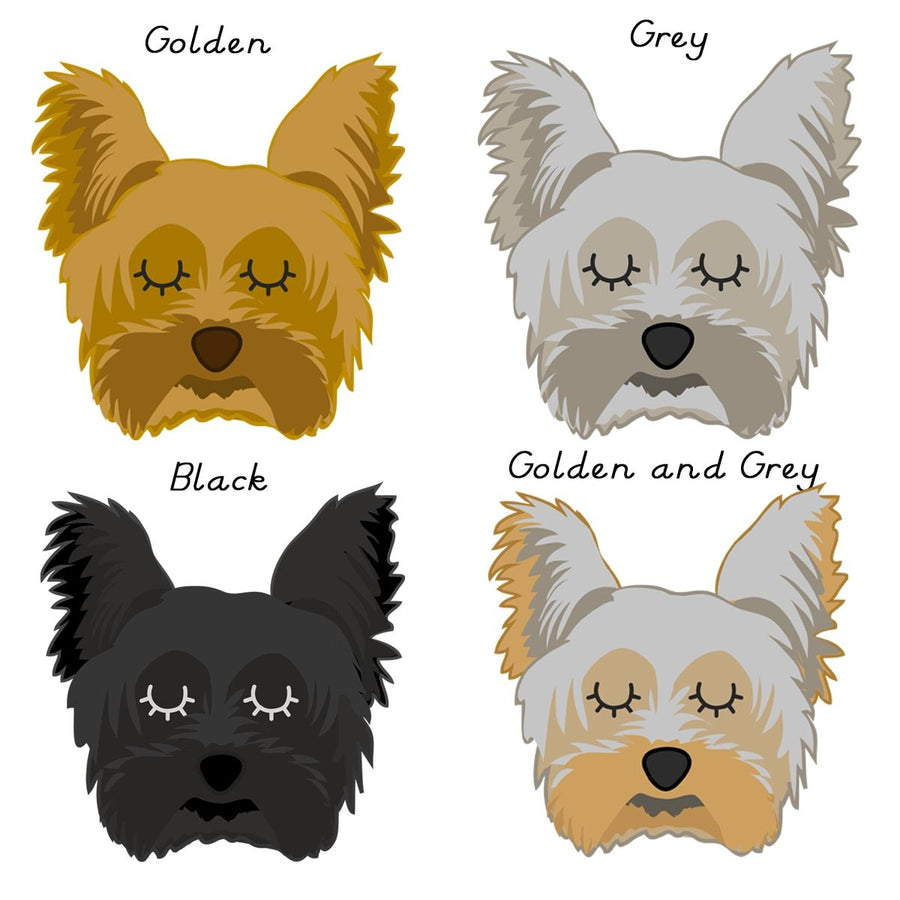 Yorkshire Terrier Dog Id Tag