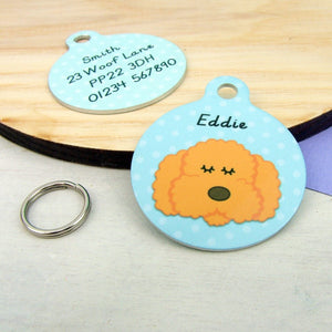 Cockapoo Personalised Pet Id Tag