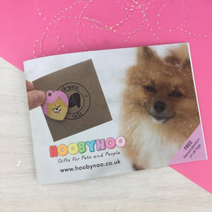 FREE Mail Order Catalogue  - Hoobynoo - Personalised Pet Tags and Gifts