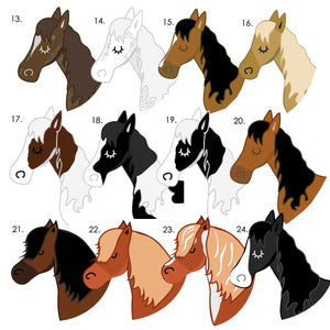 Horse Computer Mouse Pad  - Hoobynoo - Personalised Pet Tags and Gifts