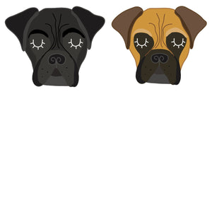 Bullmastiff Personalised Dog Name ID Tag  - Hoobynoo - Personalised Pet Tags and Gifts
