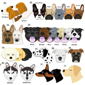 Personalised Dog Breed iPhone Case  - Hoobynoo - Personalised Pet Tags and Gifts