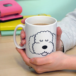 Monochrome Dog Mug