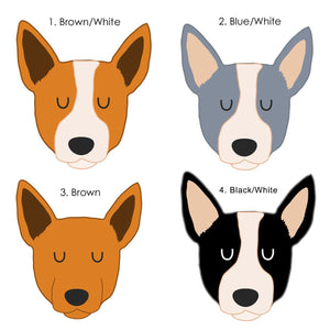 Australian Cattle Dog Watercolour Personalised Dog ID Tag  - Hoobynoo - Personalised Pet Tags and Gifts