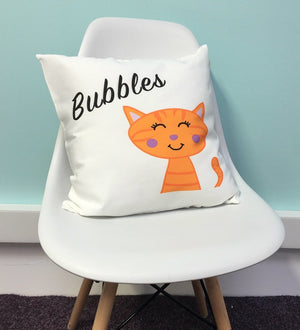 Cat Cushion Personalised