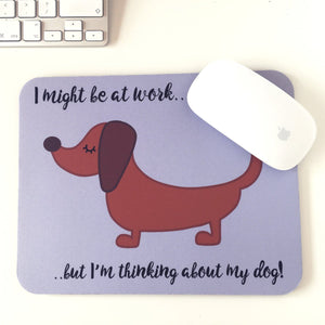 Dog Mouse Pad
