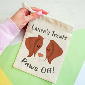Brittany Personalised Treat Training Bag  - Hoobynoo - Personalised Pet Tags and Gifts