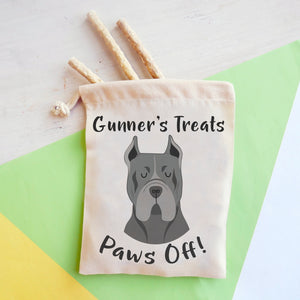 Cane Corso Personalised Treat Training Bag  - Hoobynoo - Personalised Pet Tags and Gifts
