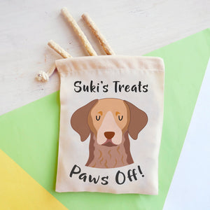 Chesapeake Bay Retriever Personalised Treat Training Bag  - Hoobynoo - Personalised Pet Tags and Gifts